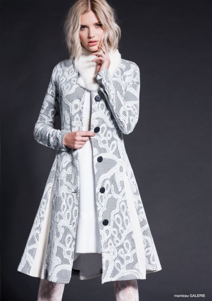 Maloka White Diamond Coat