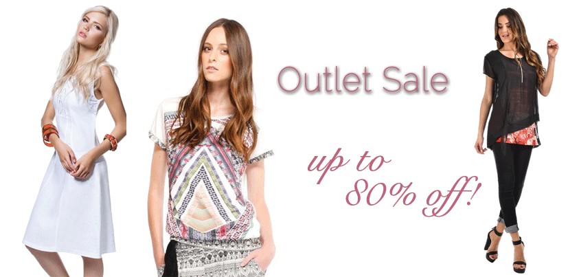 Outlet Sale: up to 80% off