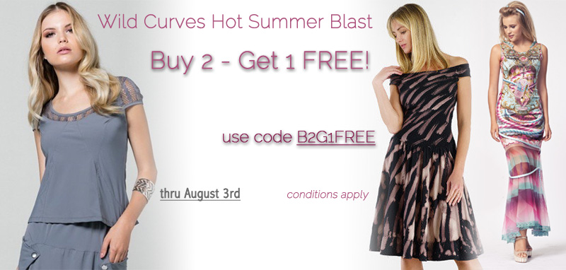 Wild Curves Hot Summer Blast: Buy 2 - Get 1 Free