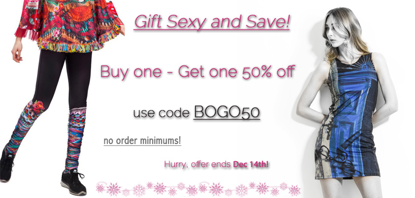 Gift Sexy and Save: Buy One - Get One 50% off