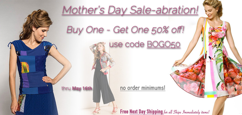 Mom's Day Sale-abration: Buy One Get One 50% off