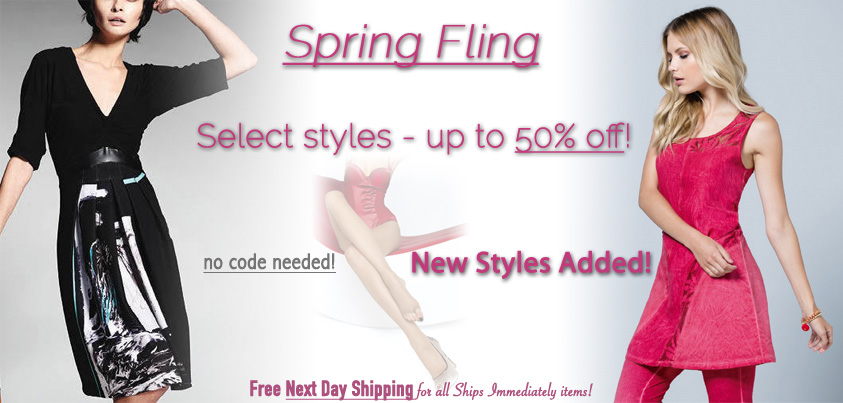 Spring Fling: Select Styles up to 50% off