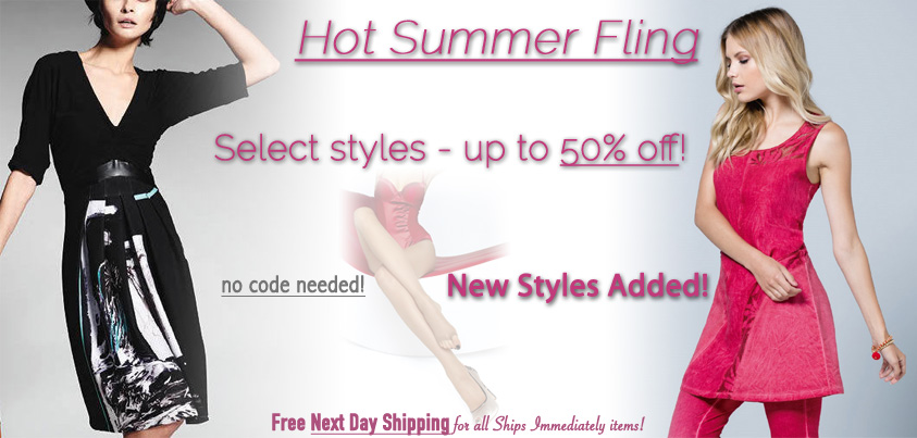 Hot Summer Fling: Select Styles up to 50% off