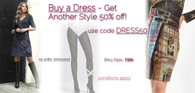 Buy a Dress and Get Another Style 50% off