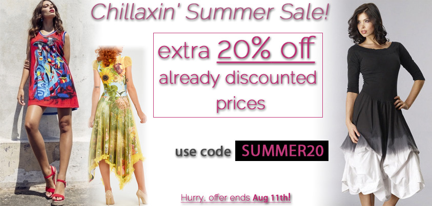 Chillaxin' Summer Sale: extra 20% off already discounted prices