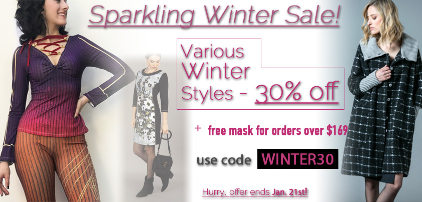 Sparkling Winter Sale: Various Winter Styles 30% off