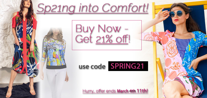 Sp21ng into Comfort: Buy Now - Get 21% off